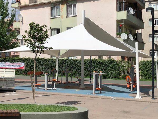 Çocuk Parkı Yarasa Tente