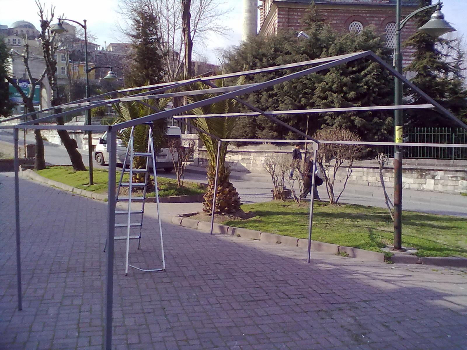 Afet Çadırı İskeleti
