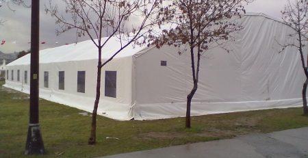 Hangar ve İftar Çadırı
